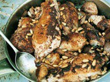 Roast Chicken with Sumac, Onions and Pine Nuts Recipe
