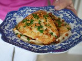 Sauteed Snapper with Tahini Sauce & Toasted Pine Nuts Recipe