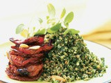 Tabbouleh Salad with Roasted Tomatoes Recipe