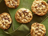 White Chocolate Cranberry Cookies Recipe