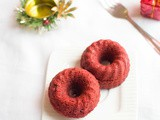 Steamed red velvet cake - steamed cake recipes