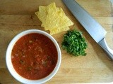 Fresh Tomato Salsa (and other goodies)