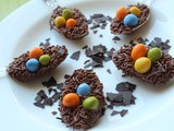 Kid-Friendly: Chocolate Easter Egg Nests Recipe