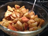 Cajun Spiced Potatoes with Healthy Solutions Spice Blend