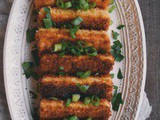 Crispy Tofu Steaks with Spicy Dipping Sauce