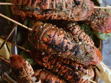 Grilled Lobster Tails and Sweet Tea