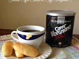 Italian Coffee Cookies featuring Caffè Vergnano