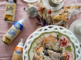 White Chocolate, Blueberry and Marmalade Scones with One Touch Lattes
