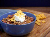 13-Bean Turkey Chili for Game Day
