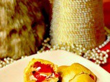 Kickin' Cherry Bacon Crescent Rolls with Honey Goat Cheese #cic