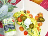 Spice up your Holiday Omelet with Montchevre Jalapeno Goat Cheese Omelets