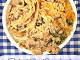 Turkey & Rice Casserole with Fresh Mushrooms, Onions & Cheese #cic