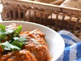 Curried meatballs with tomato sauce - perfect for meals and wraps