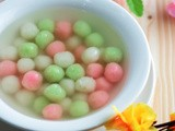 Tangyuan (Glutinous Rice Flour Balls) in Sweet Ginger Syrup