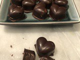 Homemade Lindor style truffle filled chocolates – dairy-free