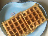 Waffles – egg-free and dairy-free