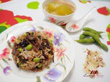 Brown Rice with Fried Dace and Edamame Recipe ( 美味豆豉鯪魚糙米饭 )