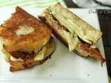 Apple, Bacon, White Sharp Cheddar Grilled Cheese