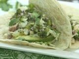 Grilled Coconut-Lime Tilapia Tacos with Kiwi Salsa