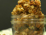 Homemade Coconut, Almond Granola