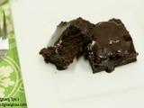 Irish Coffee and Whiskey Brownies with Chocolate Whiskey Frosting