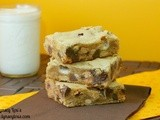 Marshmallow Reeses Blonde Brownies
