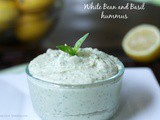 Src: White Bean and Basil Hummus