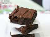 Thick and Chewy {Better than} Bakery Style Brownies