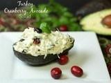 Turkey, Cranberry, Avocado Salad