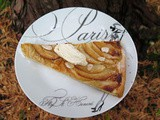 Quick French Apple Tart with Calvados Cream