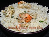 Buttery Prawn Head Rice