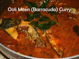 Fish Curry without Coconut / Barracuda Fish curry / Ooli Meen Kulambu / Seela Meen Kuzhambu