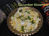 Kosambari Recipe / Carrot Kosambari / Cucumber Kosambari / Vegetarian Salad – Sprig Gourmet Product Review