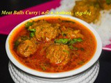 MeatBall Curry Recipe | Kari (Minced Meat) Urundai Kuzhambu