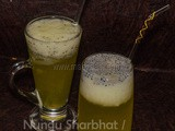 Nungu Sharbhat / Ice-Apple cooler / Toddy Palm Cooler – Summer Recipes
