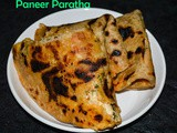 Paneer Paratha / Cottage Cheese recipe / Paratha recipe
