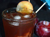 Plum Cardamom Iced Tea