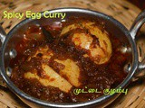 Spicy Egg Curry recipe for Rice | Indian Egg Recipes