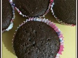 Brownie Chocolate Cup cakes | Chocolate Brownie Cup cakes | Fudgy Chocolate Cup cakes | Kids Favorite Chocolate Cup cakes