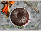 Chocolate Carrot Cake | Carrot Chocolate Cake Gluten Free | Healthy Wheat Flour Chocolate Carrot With Oil | Bolo de Cenoura com Chocolate | 900 Th Post