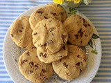 Coffee chocolate chip cookies recipe | chocolate chip coffee cookies | chewy chocolate chip cookies recipe