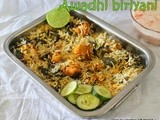 Lucknowi style chicken biryani/Awadhi chicken dum biryani/step by step pictures/south indian popular chicken biryani recipes