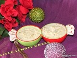 No sugar apple almond kheer/red apple badam payasam/kheer recipes with condensed milk