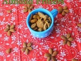 Oven Baked Almond Fritters - No Oil | Badam Nuts Pakora Without Oil | Chickpea Flour Snacks | Kids friendly healthy snacks