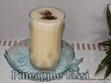 Pine apple Lassi | Pine apple Pepper buttermilk | Pineapple Recipes | Summer Juices | Lassi Recipes