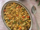 Vegetable butter fried rice | How to make vegetable fried rice | Spicy veg fried rice in Indian style
