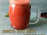 Watermelon Mint Lemonade | Melon Mint Juice | Summer Juice Recipes | Summer Drinks