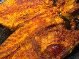Broiled Golden Pomfret with Chaat Masala