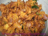 Chennai Special Onion Pakoda - Vengaya Pakoda Hotel Style Recipe- Perfect Tea Time Snack Recipe