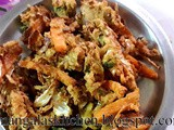 Crispy Spicy Mixed Vegetable Pakoda - Chennai Special Vegetable Onion Pakoda - Excellent Lunch Side dish recipe